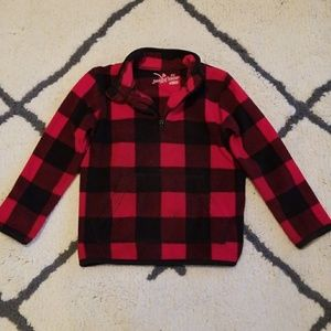 Other - Super cute buffalo check fleece